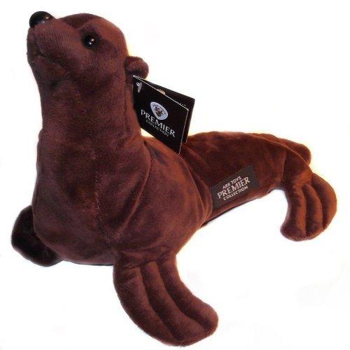 Elf457004 Diy Plush Sitting Lion 34cm * Plush Hearts
