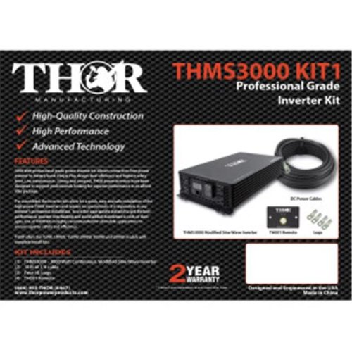 Thor THMS3000 KIT1 10 ft. of 3-0 Cable & Lugs