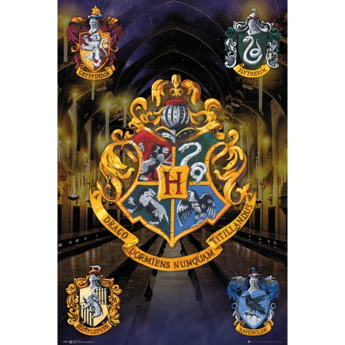 Harry Potter Crests Maxi Poster