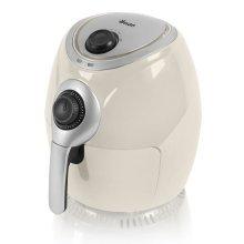 Swan Air Fryer 3.2 Litre 1350 W - Cream - 30 minute timer (Model SD90010CREN)
