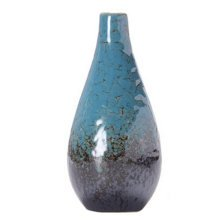 Chinese Creative Mini Cute Vase Decor Vase For Home/Office, Blue