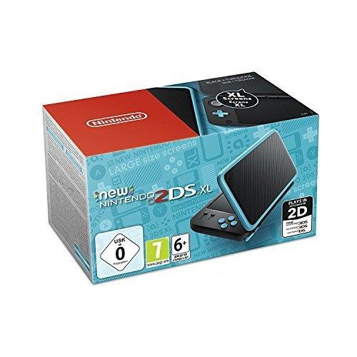 New Nintendo 2DS XL (Black \ Turquoise) (EU Version) (New)
