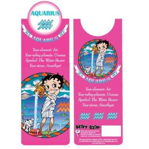 Betty Boop Aquarius Bookmark