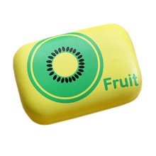 Fashion Contact Lens Case With Mirror Contact Lens Container Fruit Yellow
