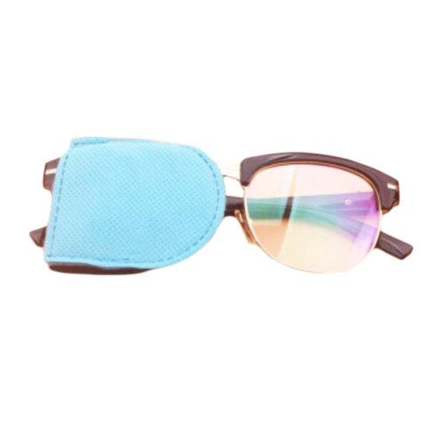 12PCS Amblyopia Eye Mask For Glasses Strabismus Lazy Eye Patches Large-Blue