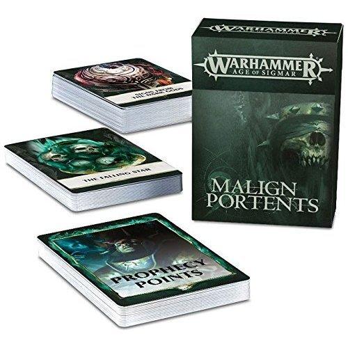 Games Workshop - Warhammer Age of Sigmar - Malign Portents Cards