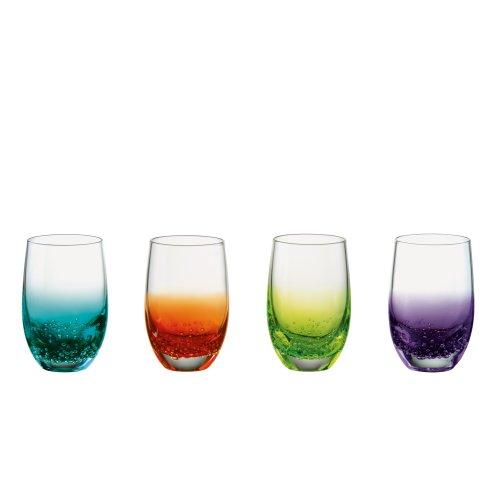 Anton Studio 80ml Fizz Design Shot Glasses, Set of 4