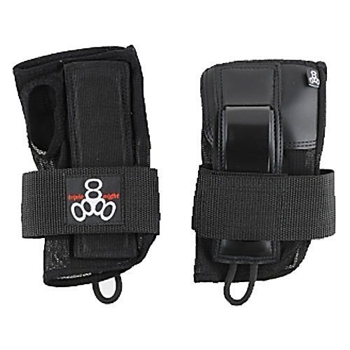 Triple 8 Saver Series Wristsaver II - Slide On Wrist Guard (Black, Small)