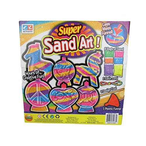 Creative Kids Sand Art Variations 6 Sand Art Projects v