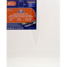 "Elmer's Foam Boards 11""X14""X.1875"" 4/Pkg-White"