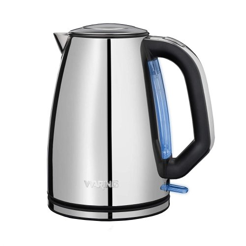 Waring WJK17CU Polished Cordless Jug Kettle Stainless Steel 3000W 1.7L Grade C