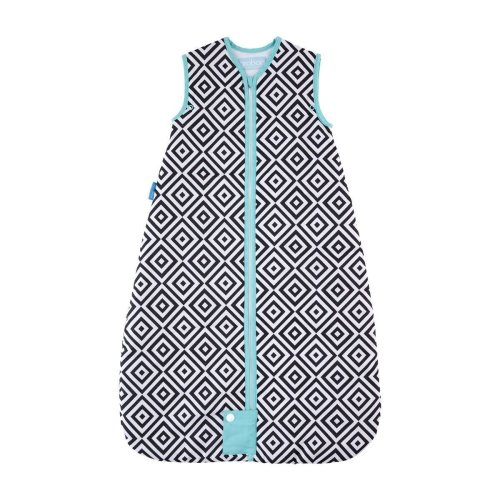 The Gro Company Grobag Jet Diamonds Travel Baby Sleeping Bag - 0-6m - 2.5 Tog