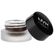 NYX Professional Makeup Gel Eyeliner and Smudger, Scarlette, Dark Brown, 0.11 Ounce