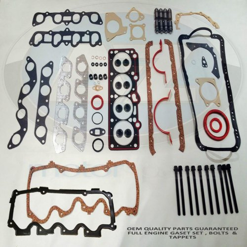 Ford Escort Fiesta 1.6 RS Turbo Engine head bottom gasket set bolts tappets kit