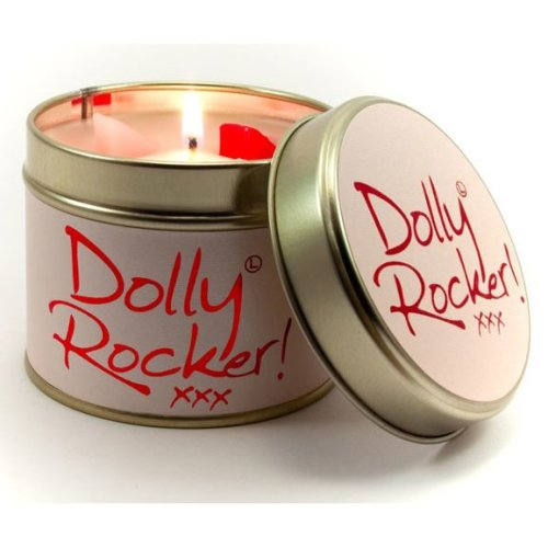 Lily Flame Candle in a Tin - Dolly Rocker