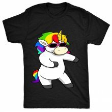 8TN Floss Unicorn - Funny Dance Hip Hop Dab Womens T Shirt