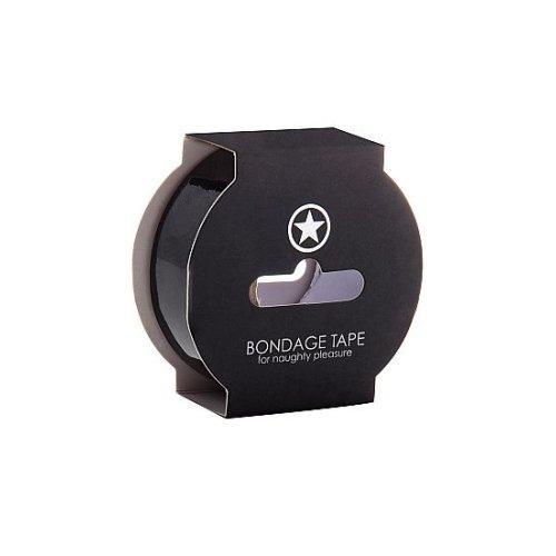 Non Sticky Bondage Tape - 17,5 Meter - Black