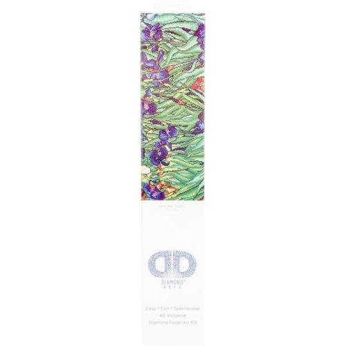 Needleart World DD13007 Diamond Dotz Diamond Embroidery Facet Art Kit, 25.25 x 34.5 in. - Irises Van Gogh