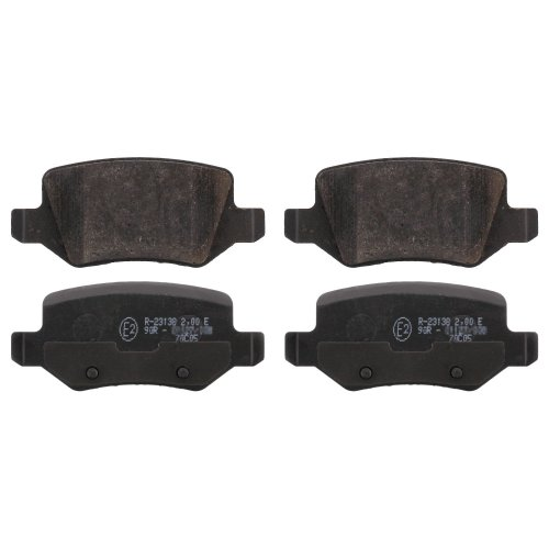febi bilstein 16440 brake pads (Set of 4) (rear axle)