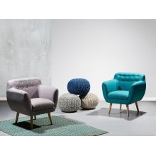 Armchair - Living Room Chair - Club Chair - Upholstered - MELBY