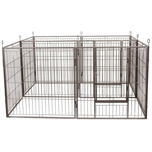 Heavy Duty Dog Play Pen Outdoor Indoor Square Rectangle Octagon