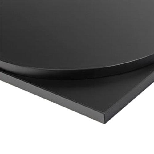 Taybon Laminate Table Top - Black Square - 600x600mm