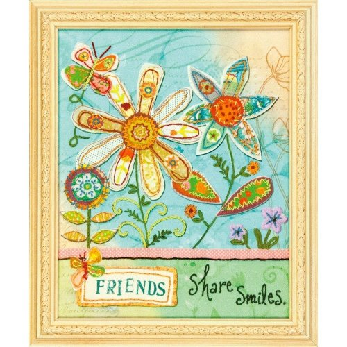 D72-73773 - Dimensions Stamped Embroidery - Friends Share