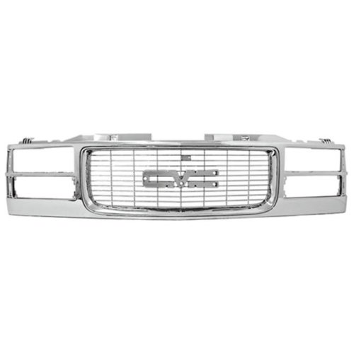 In Pro Car Wear CWG-FD2007F0 Ranger Grille, OE Replacement, Chrome & Gray