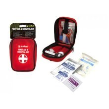 First Aid Survival Kit Including Torch & Whistle -  summit first aid survival kit camping torch whistle medical emergency
