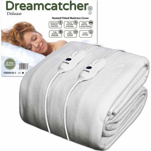 Dreamcatcher Double Electric Blanket Luxury Polyester 190 x 137cm