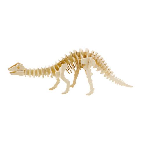 3-D Wooden Jigsaw Puzzle?brontosaurus