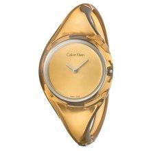 Calvin Klein Pure Translucent Bangle Ladies Watch K4W2MXF6