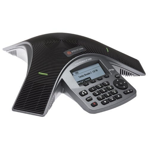Polycom IP5000 (SIP) conference phone. 802.3af Power over Ethernet