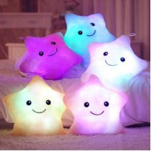SOFO Smile Star LED Luminous Glowing Pillow