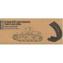 Tru02061 - Trumpeter Track Set 1:35 - French R35 Light Infantry Tank