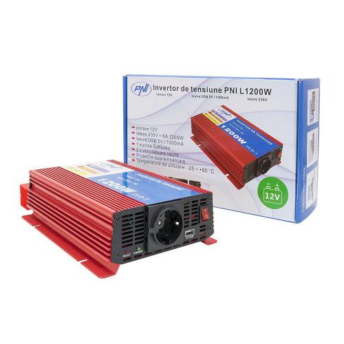 PNI voltage inverter L1200W power supply 12V 230V output