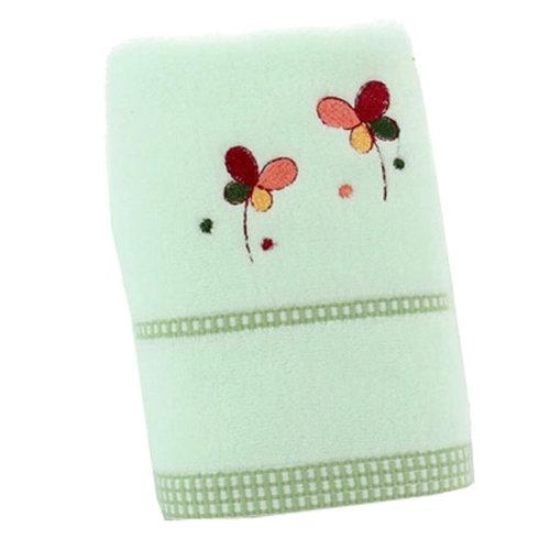 Sets of 2 Flower Best Bath Towels Luxury Bath Towels Bathing Towels , Green