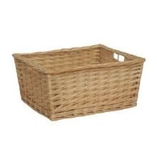 Set of 3 Kitchen Storage Wicker Basket