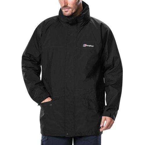 Berghaus Men's Iii Gore Tex Walking Shell Cornice Jacket, Black/Black, Medium