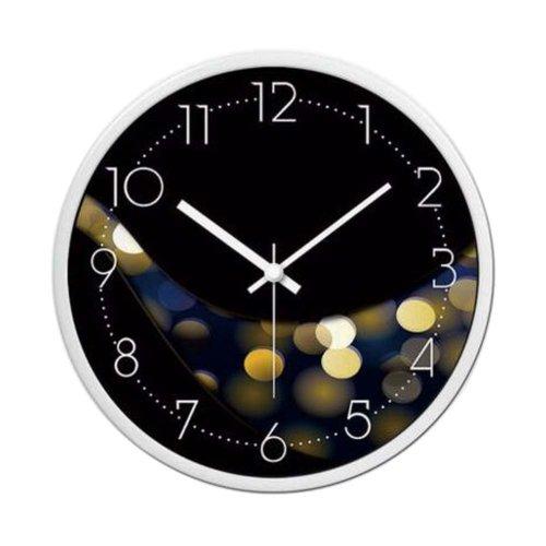 [A] 12 Inch Stylish Wall Clock Decorative Silent Non-Ticking Wall Clock