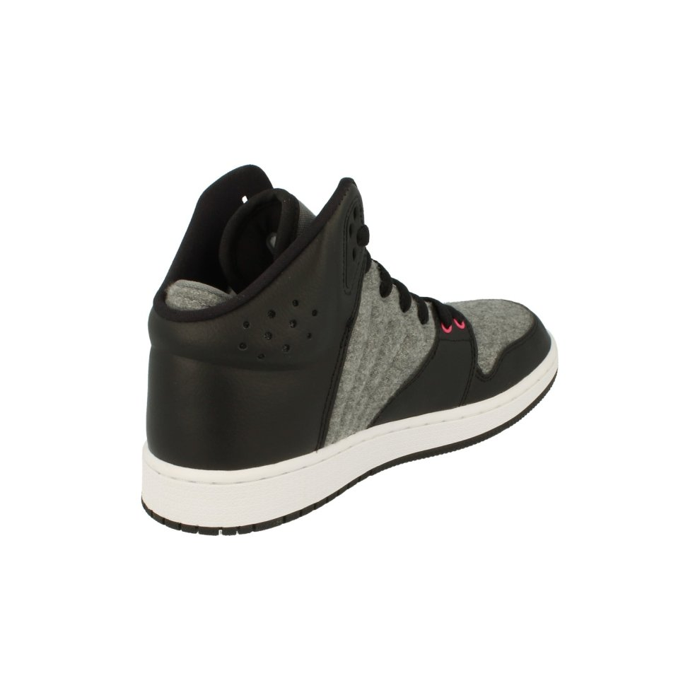 promo code a35d7 3e236 Nike Air Jordan 1 Flight 4 Prem GG Hi Top Trainers 828245 Sneakers Shoes