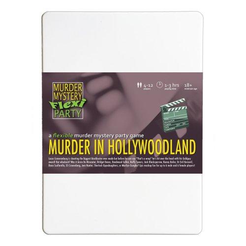 Murder in Hollywoodland Murder Mystery Flexi Party