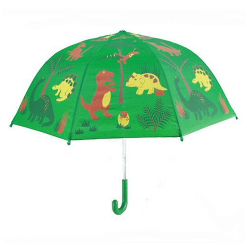 Childrens  Rainy Day Umbrella/?0-7years)Bright colors Kids Umbrella dinosaur