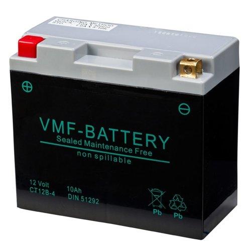 VMF Powersport AGM Battery 12 V 10 Ah FA YT12B-4