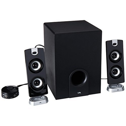 Cyber Acoustics Subwoofer Satellite System CA 3602a
