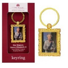 Queen Elizabeth II Keyring Official John Swannell Windsor Collection Royal Souvenir Gift