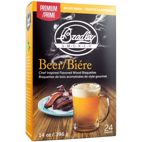 Bradley Smoker Premium Beer Bisquettes - 48 Pack