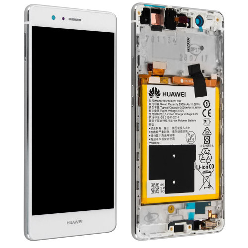 LCD replacement part with touchscreen for Huawei P9 Lite – White