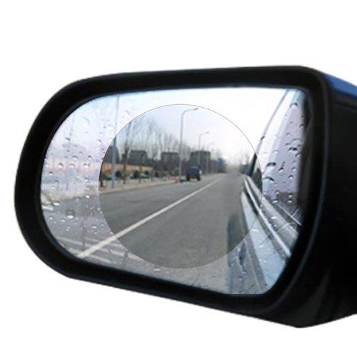 2PCS Car Rearview Mirror Anti-fog Film