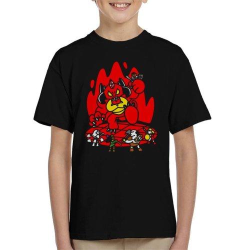Chibis Battle Diablo Kid's T-Shirt